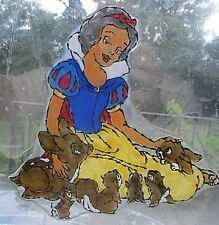 Snow White Themed Window Clings