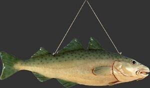 Salmon Hanging