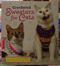 Crocheted Sweaters For Cats Kit – Nwt. By Sterling Innovation