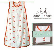 Aden and Anais Fish Sleeping Bag Lightweight 100% Cotton Muslin S BEST PRICE