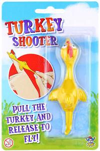 Turkey Shooter - Pinata Toy Loot/Party Bag Fillers Kids Christmas Stocking Santa