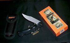 "Marbles MR310 Lockback Knife & Sheath Surgical Steel Blade 5"" Closed W/Packaging"