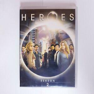 Heroes Season 2 DVD Region 4 AUS - TV Series Superheroes