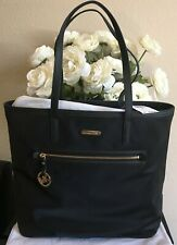 NWT Michael Kors Black Kempton Nylon Large Tote Bag Handbag Purse MSRP $138
