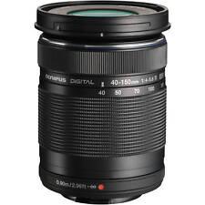 Olympus M.ZUIKO DIGITAL ED 40-150mm f/4-5.6 TAX FREE Black White Box UK On Sales
