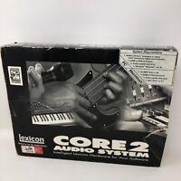 Lexicon Core 2 Audio System PCI Card I/O & Desktop Recording System