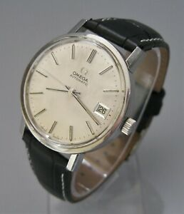SUPERB! Vintage OMEGA  Automatic Cal 1012, Stainless, Good Condition Runs Well