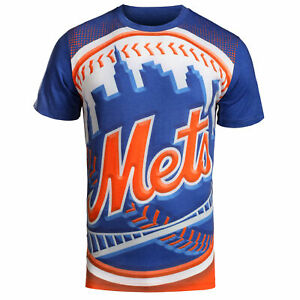 FOCO MLB Men's New York Mets Big Logo Tee