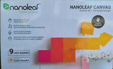 NANOLEAF CANVAS 9 LIGHT SQUARE SMARTER KIT, NEW IN SEALED BOX