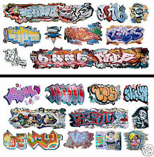 HO Scale Graffiti 2-Pack #17 - Weather Your Box Cars, Hoppers, & Gondolas!