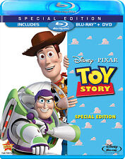 Disney Tom Hanks Tim Allen 1st Pixar Movie Original Toy Story on Blu-ray & DVD