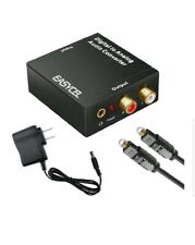 Easycel Audio Digital to Analog Converter DAC with 3.5mm Jack, Optical SPDIF