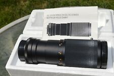 Minolta MC Zoom Celtic 100-200mm 1:5.6  - Lens in box with Papers ''MINTY''