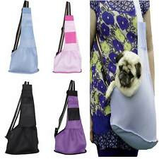 Small Dog Carry Sling Pouch Mesh  - Travel Anxiety Bonding