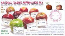 COVERSCAPE computer designed National Teacher Appreciation Day 2013 event cover