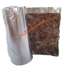 ROOFING INSULATION BLANKET & FOIL 55mm, 15m ROLL, COVER 18SQM