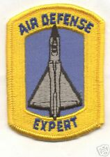 1960s-70s F-106  AIR DEFENSE EXPERT patch
