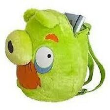 """Angry Birds -GREEN PIG PLUSH BACKPACK 14"""" For Kids BRAND NEW - Licensed Product"""