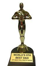 """World's 9th Best Dad Trophy-7"""" 370173"""
