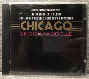 CHICAGO A Musical Vaudeville SYDNEY THEATRE COMPANY CD SOUNDTRACK 1997 FREE POST