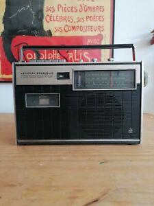 National Panasonic 3 Band Radio Cassette 447F Player