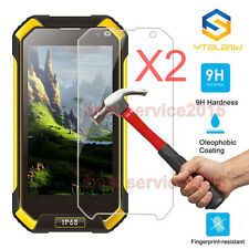2Pcs 9H+ Tempered Glass Film Screen Protector For Blackview BV6000 / BV6000S