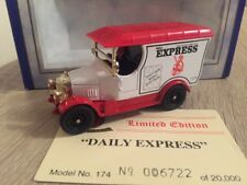Oxford Diecast Daily Express Newspaper Thatcher Wins Election Bullnose Morris