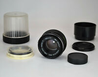 EXC! NEVER USED! USSR MC HELIOS-44M-7 SLR lens, f2/58, M42, with LENS HOOD (1)
