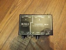 Rolls Promatch 2-Way Stereo Converter - Used