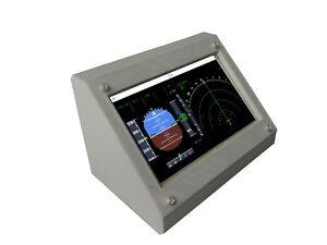 Cockpit Instrument Panel Display For Microsoft Flight Simulator 2020