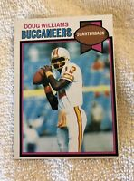 Tampa Bay Buccaneers Trading Cards Topps, UD. Doug Williams Rookie (2), more