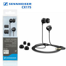 LOT of 2 Sennheiser CX175 In-Ear Phones Headphones Hi-Fi Dynamic Speak