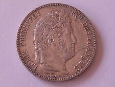 5 Francs Louis-Philippe Ier 1839 W