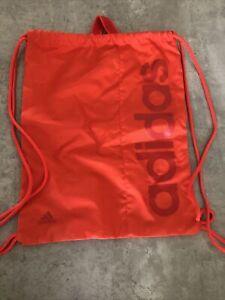 Adidas Gym Sack Gymsack Drawstring Bag  PE, Training Gym, Beach (used)