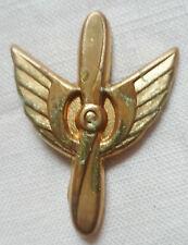 Insigne PARACHUTISTE FINLANDE métal léger ORIGINAL brevet ecole AIR PILOTE ???