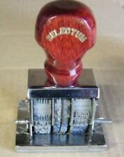 Selectum date stamp-old stock