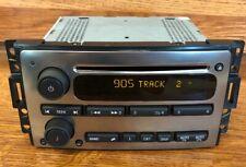 UNLOCKED 2006-2010 Hummer H3 H3T Chrome Cd Disc Player Am/Fm Radio OEM Mint