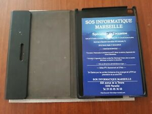 Housse coque protection Rotatif 360° Noire pour Apple iPad Air 2 A1566