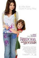RAMONA AND BEEZUS Movie POSTER 27x40 Joey King Selena Gomez John Corbett Bridget