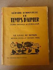 ldm ARTHEME FAYARD - G. D'HOUVILLE - le temps d'aimer - bois de Le MEILLEUR
