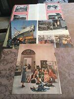 VINTAGE HOLIDAY MAGAZINE AD 1950 BROOKLYN SHIPYARDS CONEY ISLAND BRIGHTON BEACH