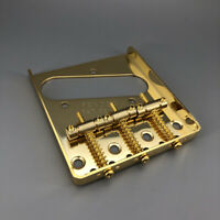 Vintage Gold Guitar Bridge Brass Saddle For Telecaster Guitar