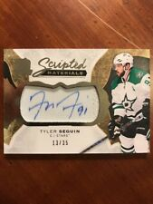 16-17 UD The Cup Scripted Materials #Sm-TS Tyler Seguin 13/35 Auto