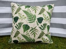Leaf Cushion Cover, Designer, Tropical, Retro, Botanical, Country, Green, Leaves