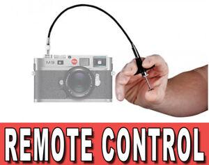 MECHANICAL CABLE REMOTE CONTROL SHUTTER ADATTO A LEICA M2 M3 M4 M5 M6 M7 MP M9