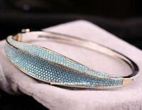 Turkish Handmade 925 Sterling Silver Turquoise stone Ladies Woman Fine Bracelet2