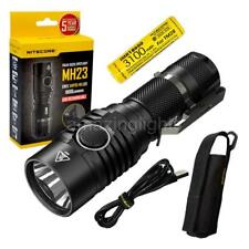 NITECORE MH23 1800 Lumen Rechargeable Flashlight w/ 1x IMR 3100mAh 18650 Battery