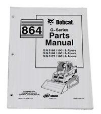 Bobcat 864 G Series Skid Steer Parts Catalog Manual Part Number 6900958