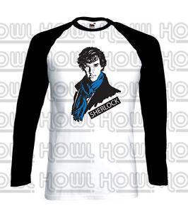 Benedict Cumberbatch 'Sherlock Portrait' Inspired T-shirt and Baseball Shirt