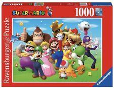 NEW Ravensburger Nintendo Super Mario Brothers 1000 Pc Puzzle